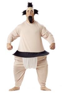 Inflatable Sumo Wrestler Costume