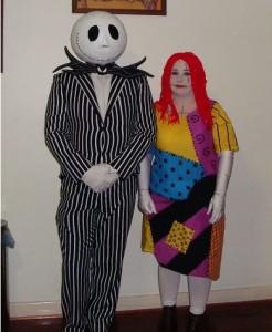 Jack Skellington and Sally Costumes