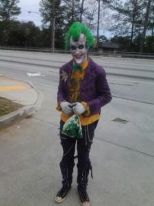 Joker Arkham Asylum Costume