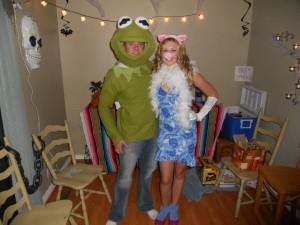 Kermit and Miss Piggy Costume