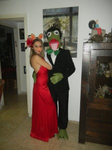 Kermit and Miss Piggy Costumes