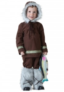 Kids Eskimo Costume