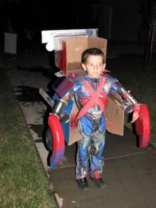 Kids Optimus Prime Costume