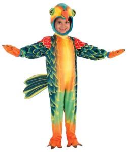 Kids Parrot Costume