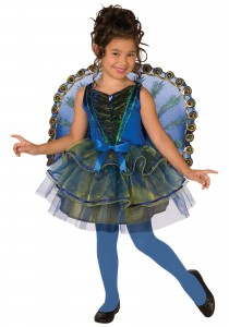 Kids Peacock Costume