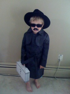 Kids Spy Costume