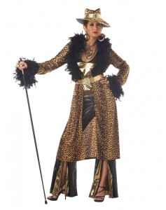 Lady Pimp Costume