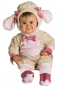 Lamb Costume for Baby