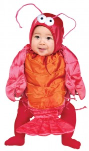 Lobster Costume Baby