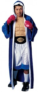 Mens Boxer Costume