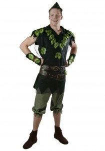Mens Peter Pan Costume