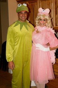 Miss Piggy and Kermit Costumes