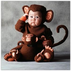 Monkey Costume Baby