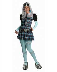 Monster High Costumes Frankie Stein