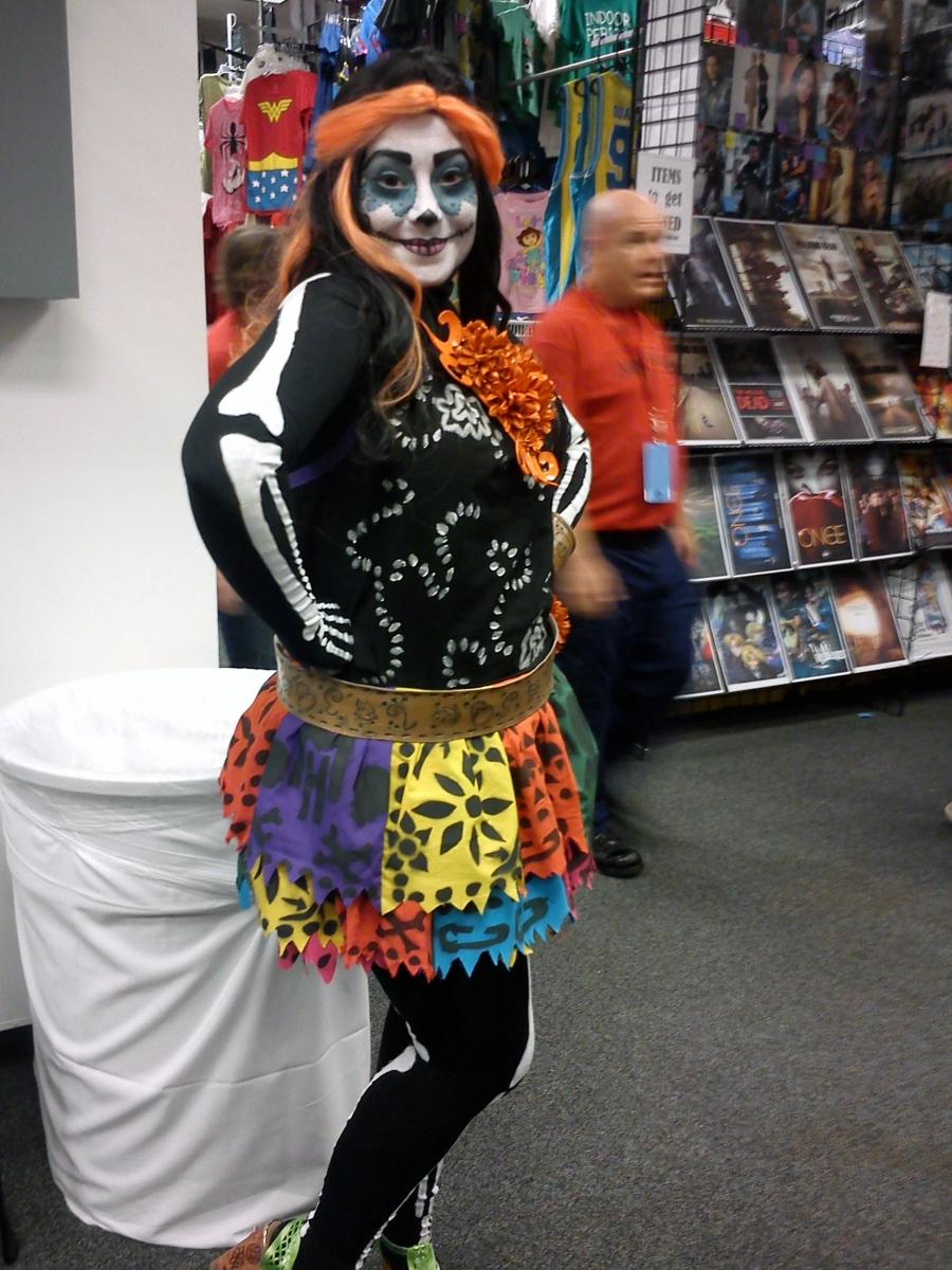 Skelita Calaveras Costumes Costumesfc Com