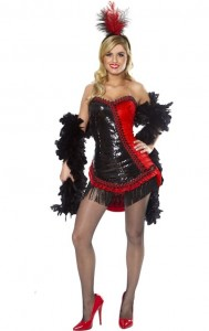 Moulin Rouge Costume for Girls