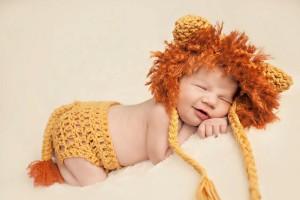 Newborn Lion Costume