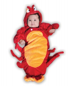 Newborn Lobster Costume