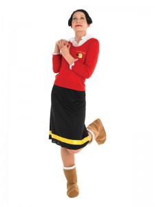 Olive Oyl Costume Ideas
