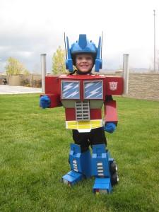 Optimus Prime Toddler Costume