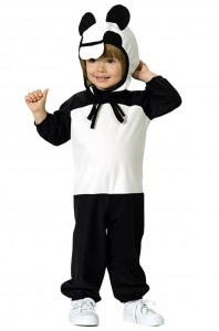 Panda Bear Costume Kids