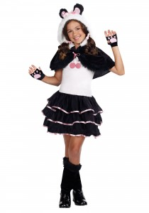 Panda Bear Costume for Girl