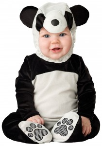 Panda Bear Costume for Toddler