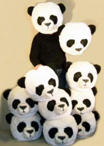 Panda Bear Head Costume