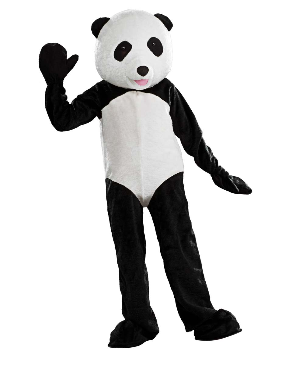 Adult bear costume panda
