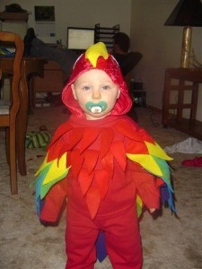 Parrot Baby Costume