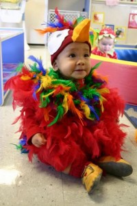 Parrot Costume Baby