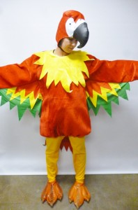 Parrot Costume Women