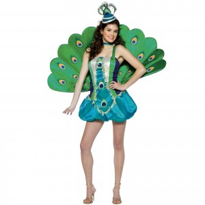 Peacock Costume Ideas