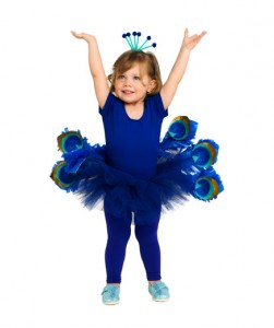 Peacock Costume for Kids