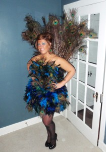 Peacock Costumes for Girls