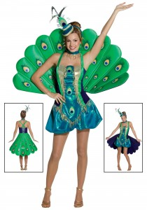 Peacock Costumes for Women