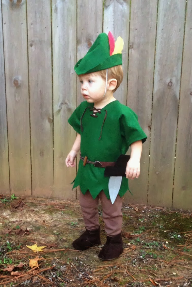 Great Peter Pan Costume Toddler