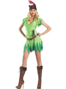 Peter Pan Costume Women
