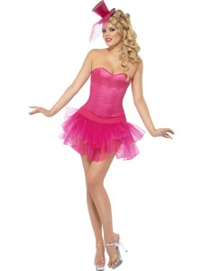 Pink Burlesque Costumes