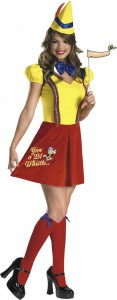 Pinocchio Costume for Girls