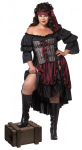 Pirate Wench Costume Plus Size