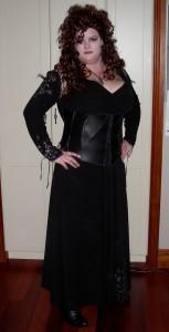 Plus Size Bellatrix Lestrange Costume