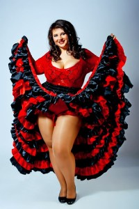 Plus Size Burlesque Costume