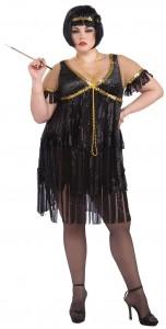Plus Size Flapper Dress Costume