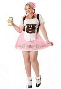 Plus Size German Beer Girl Costume