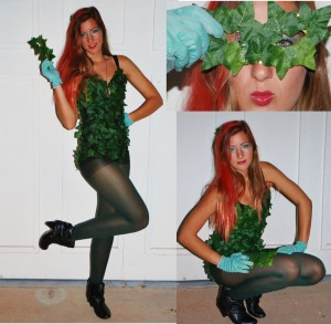 Poison Ivy Costume Images