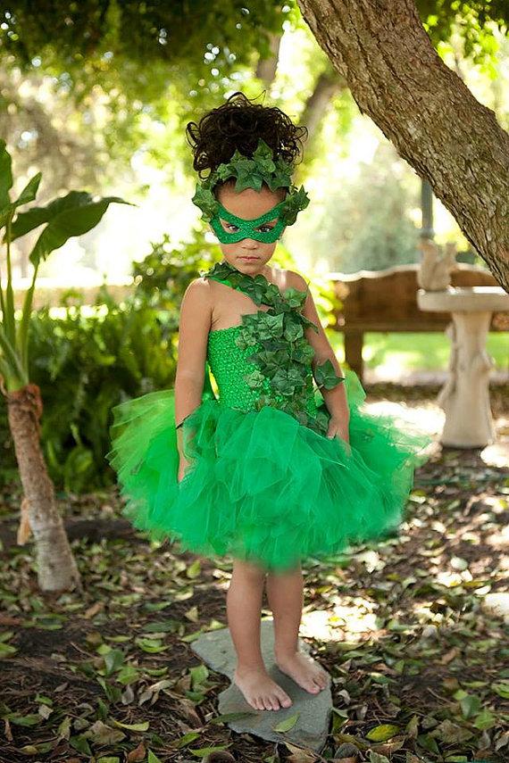 Poison Ivy Batman Costume For Kids Costumes Fc