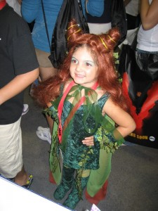 Poison Ivy Kids Costume