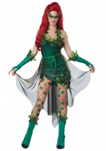 Poison Ivy Villain Costume