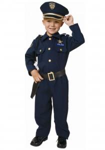 Police Officer Costume Kids